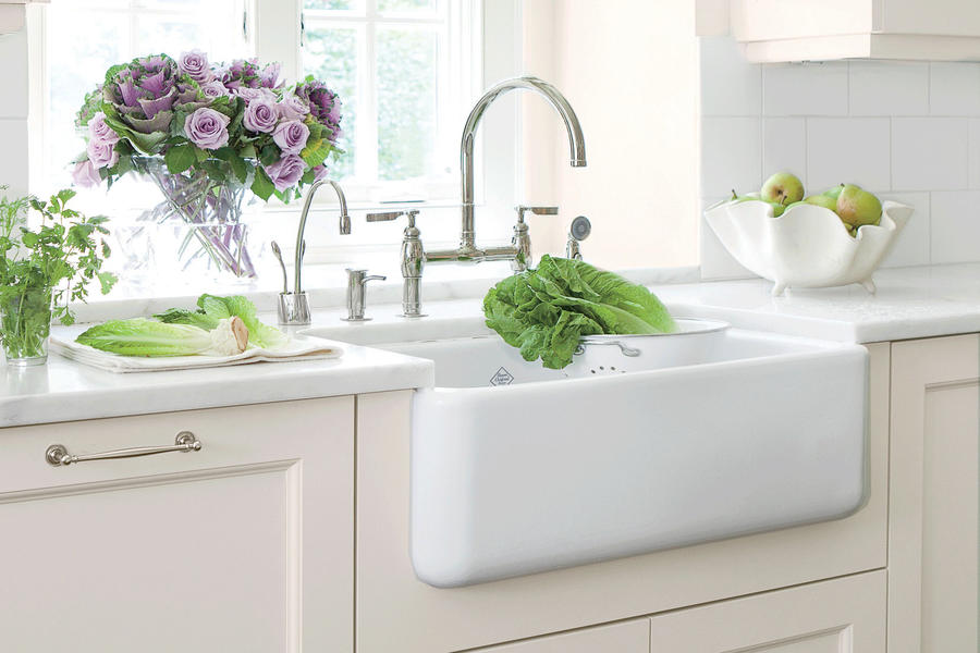 Farmhouse Sink Vintage : Home Home Decor Ideas Farmhouse Sinks with Vintage Charm