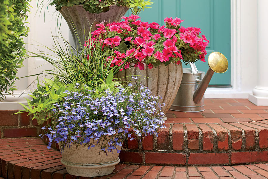 Romantic Stair Step Pots