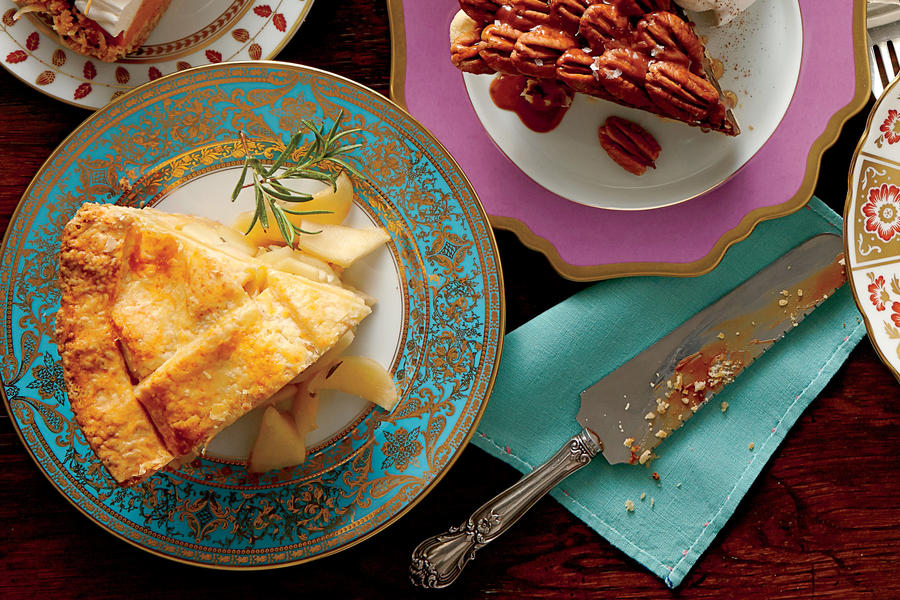 Pear-Rosemary Pie with Cheddar Crust