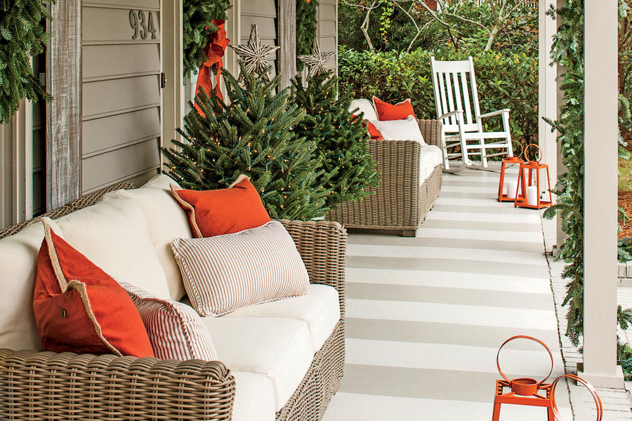 What She Did: Front Porch
