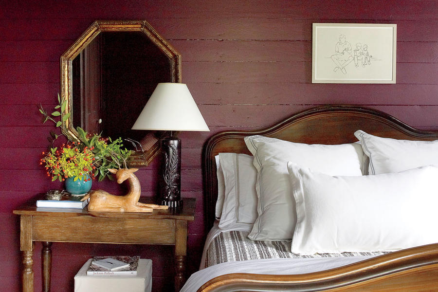 Earthy Guest Room
