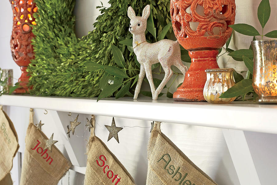 Holiday Details: Homespun Elements
