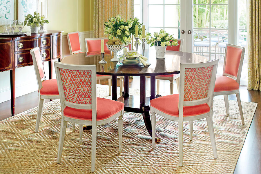 No. 4 Give Your Dining Room a Splash of Bold Color