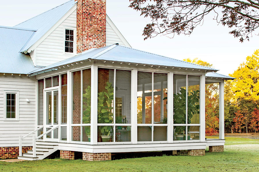 The Screened Porch Alabama Farmhouse Southern Living