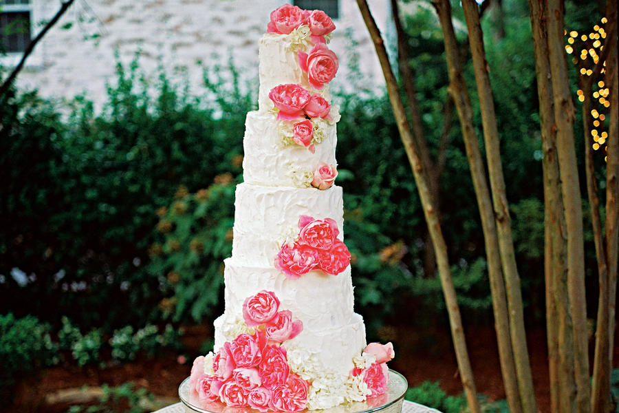 Five-Tier Wedding Cake