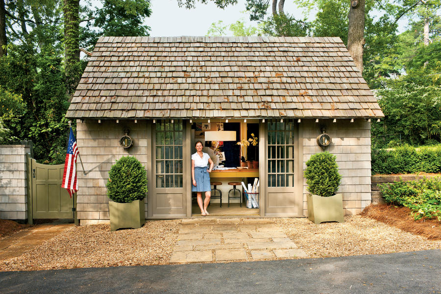 Evans home office remodel, exterior