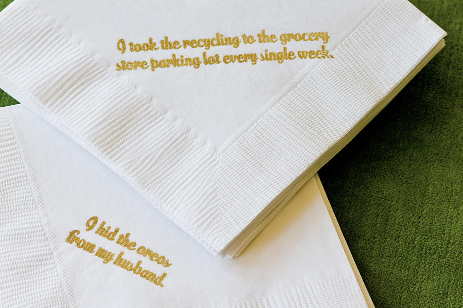 Clever Cocktail Napkins