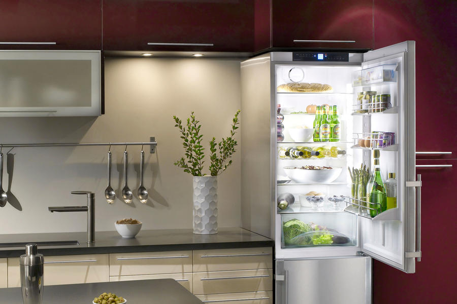Liebherr refrigerator-freezer combination