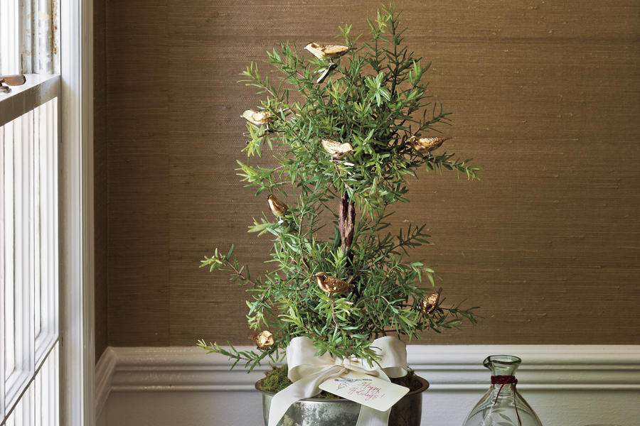 Trim a Tabletop Tree
