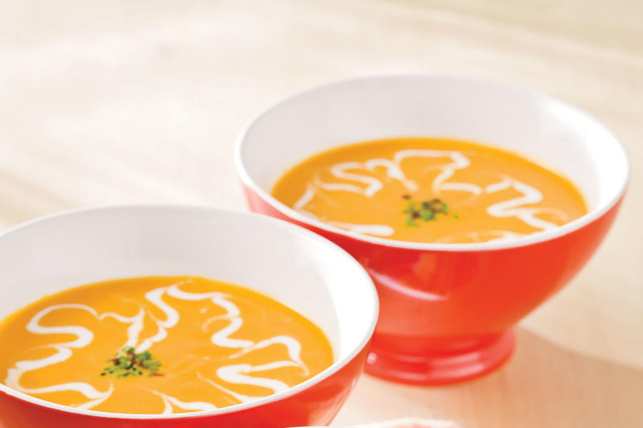 Healthy Food Recipe: Baby Carrot Soup