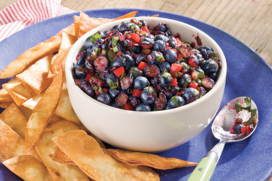 Blueberry Salsa