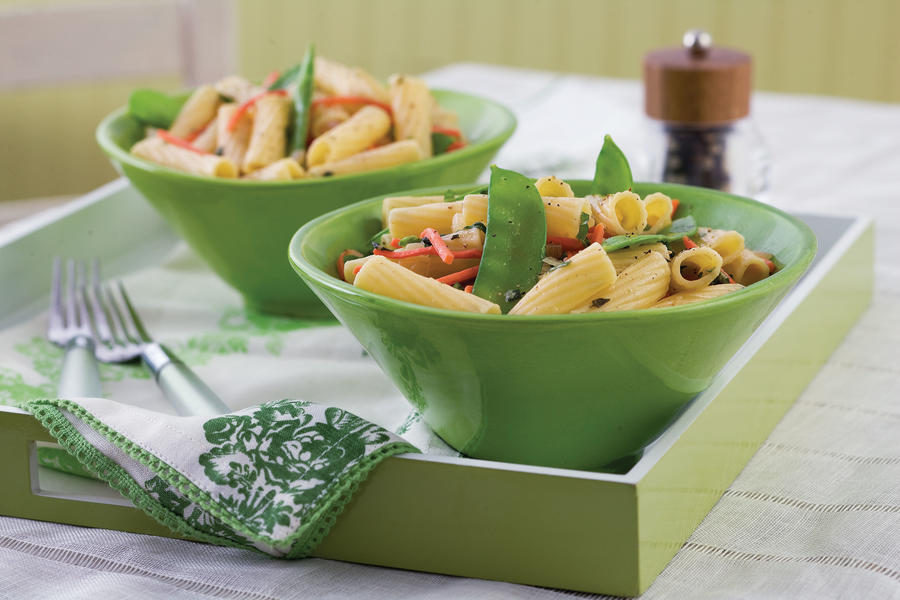 Lemon Veggies and Pasta
