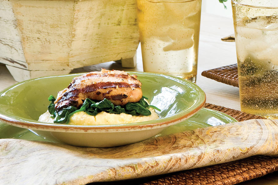 Rosemary Grilled Chicken Thighs