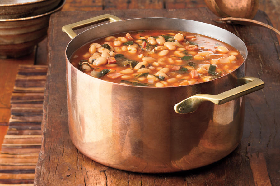 Soup Recipes: White Bean-and-Collard Soup