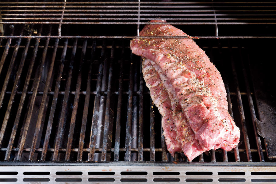 How To Grill Baby Back Ribs: Stack & Grill