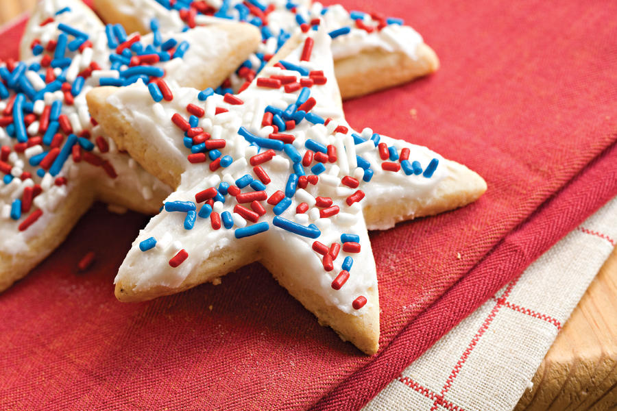 Fourth of July Recipes: Frosted Sugar-'n'-Spice Cookies