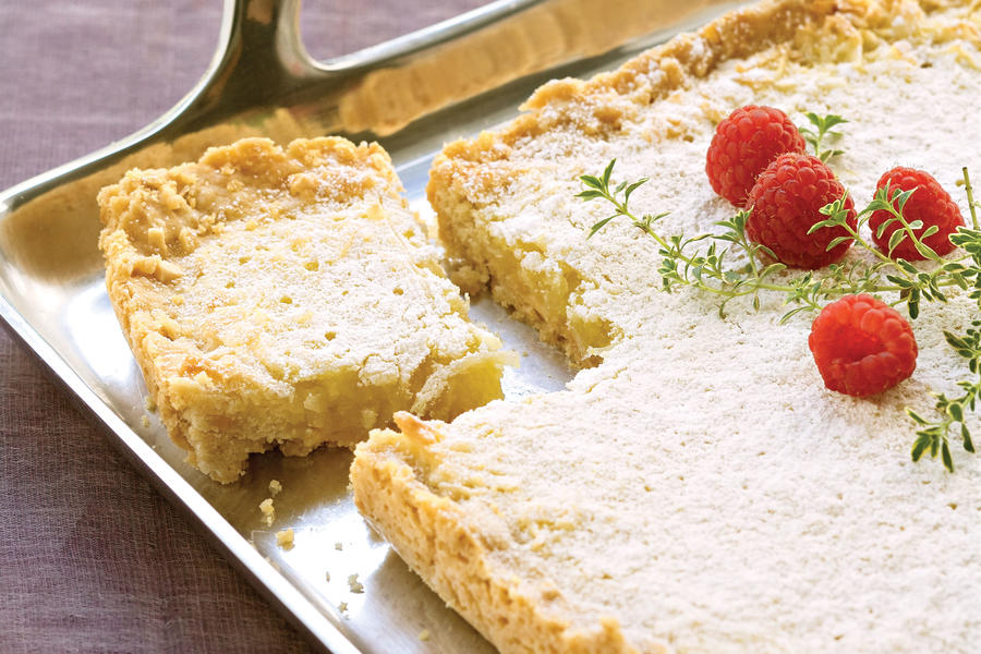 Lemon-Coconut Tart
