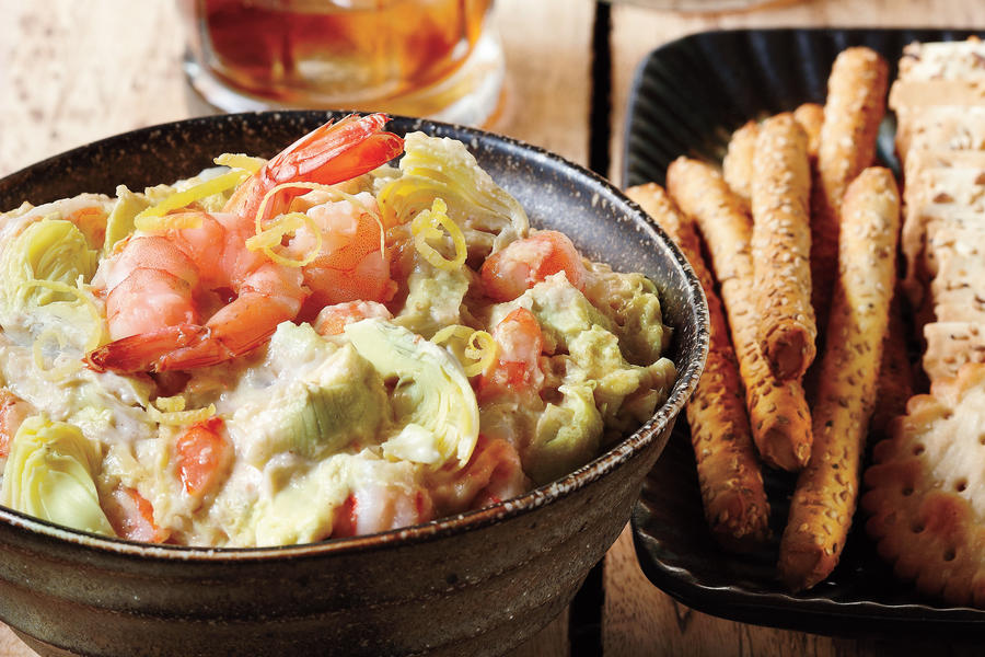 Warm Artichoke-Shrimp Dip