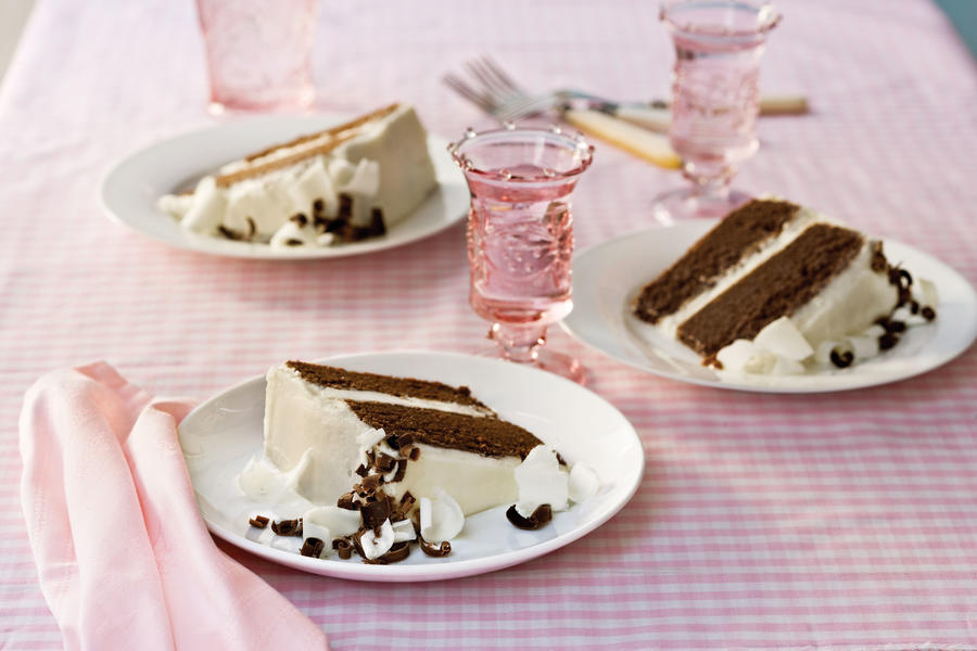 Chocolate Layer Cake with Vanilla Buttercream Frosting