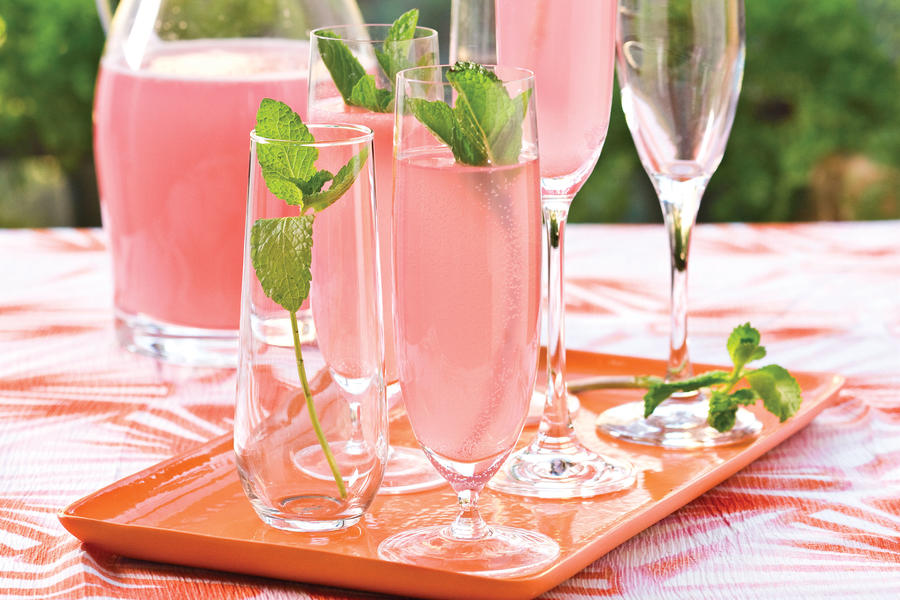 Wedding Shower Recipe Ideas: Sparkling Punch