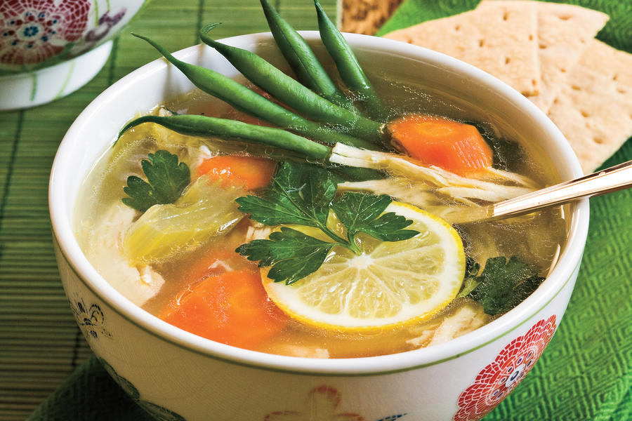 Soup Recipes: Lemon-Chicken Soup