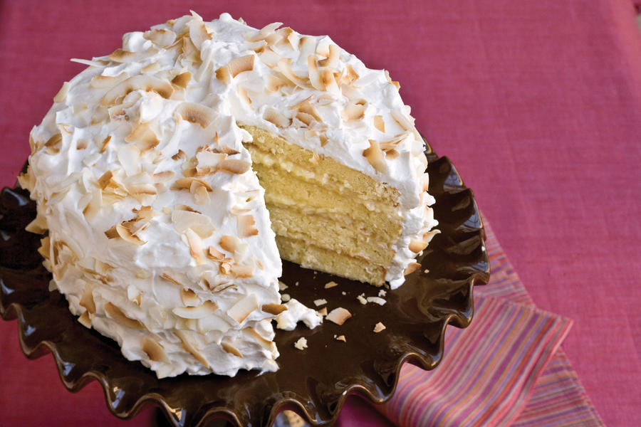 Four-Layer Coconut Cake