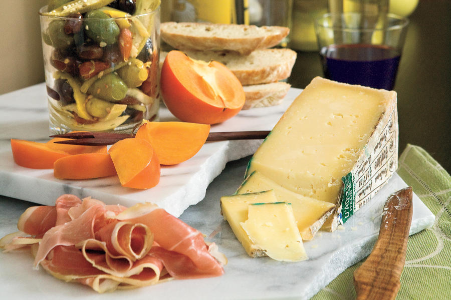 Instant Italian Cheese Tray