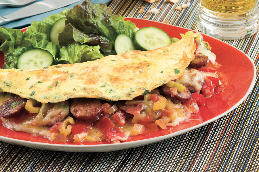 cajun omelet 68 ways with farm fresh eggs southern living