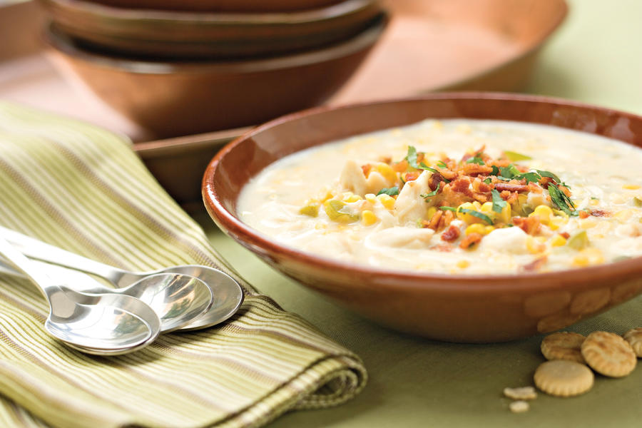 Corn-and-Crab Chowder