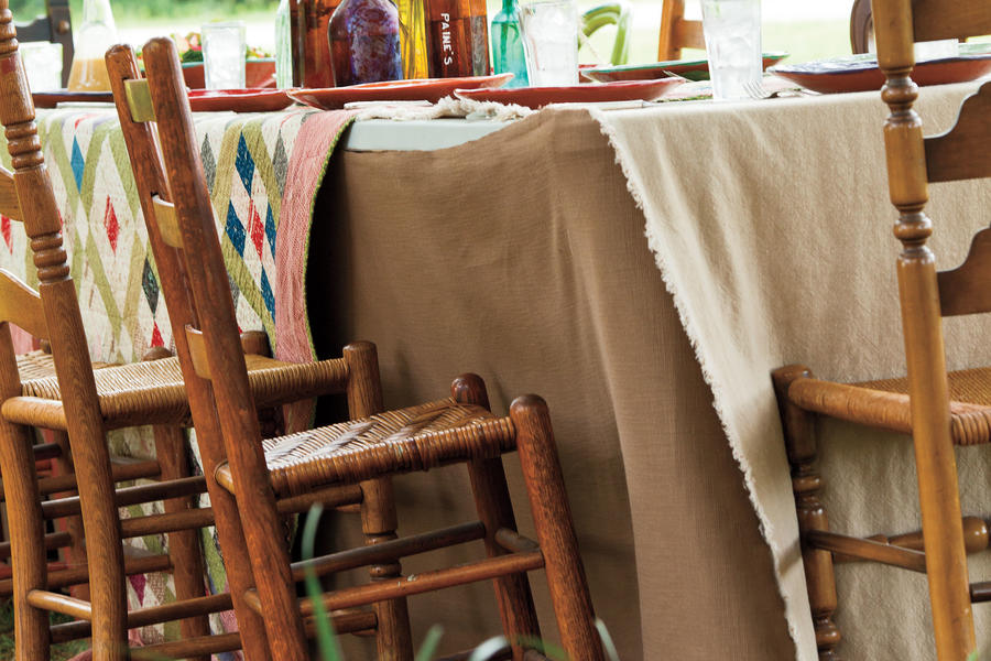 Quilt Table Coverings