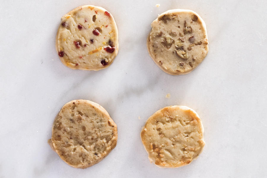 Christmas Recipes: Slice-and-Bake Shortbread Cookies