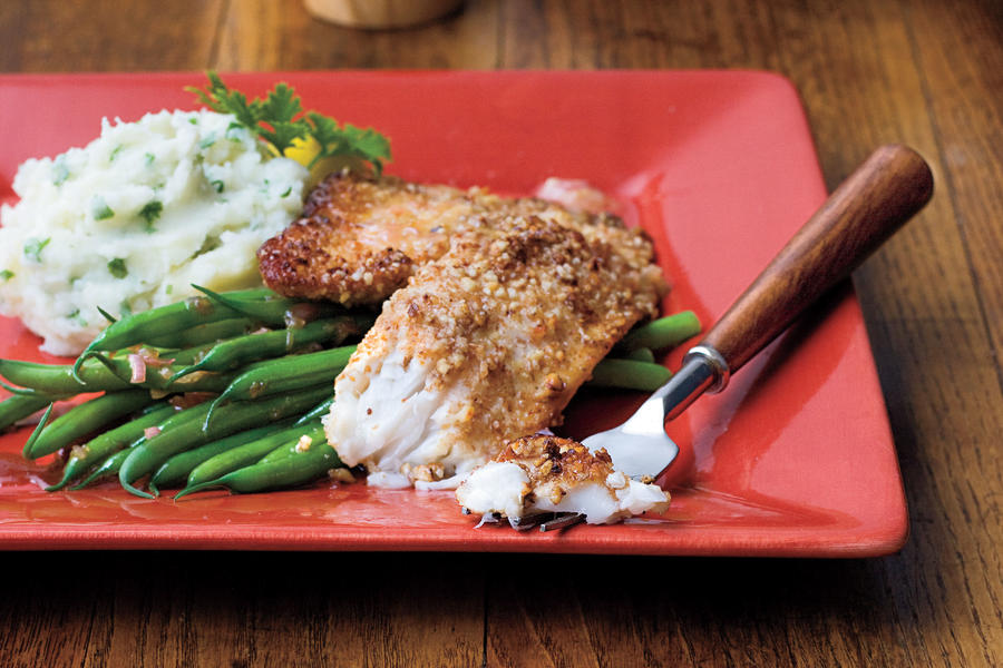 Quick and Easy Dinner Recipes: Pecan-Crusted Tilapia