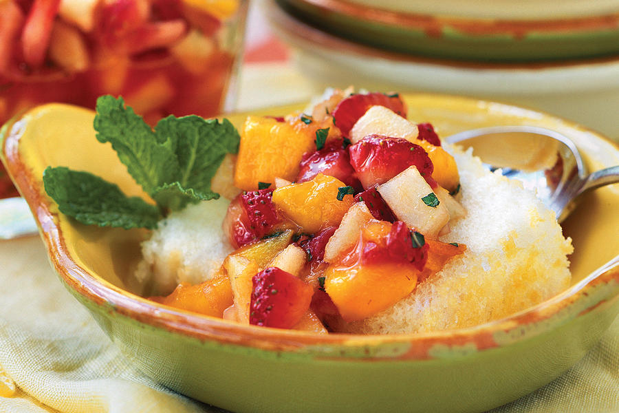 Minted Fruit Salsa