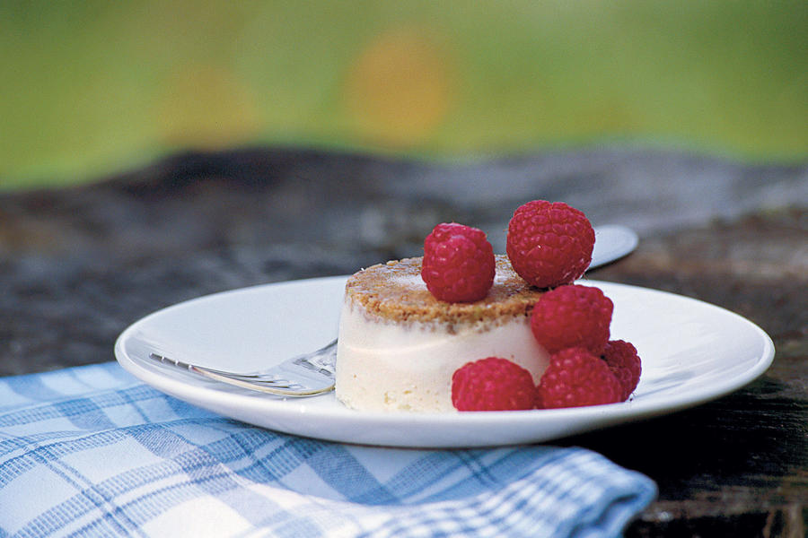 Lime-Goat Cheese Cheesecakes