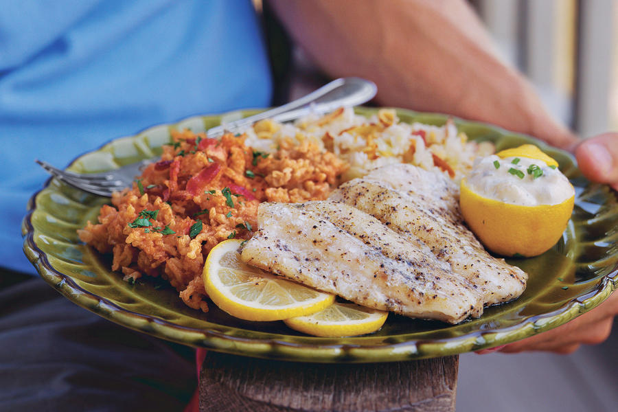Greek Snapper on the Grill Recipes