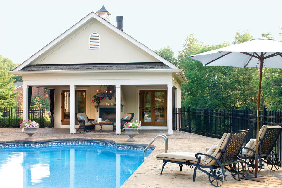 Year-Round Pool House
