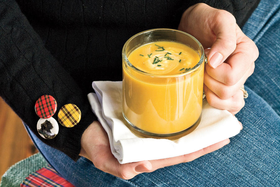 20 Soups and Stews Recipes: Butternut-Squash Parsnip Soup