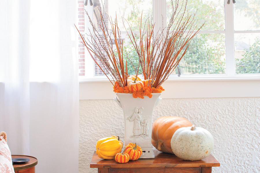 Add Height to Your Pumpkin Display
