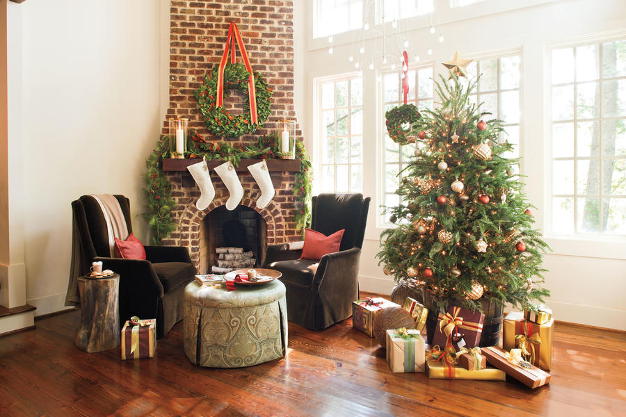 Organic and Shimmery Chritmast Tree