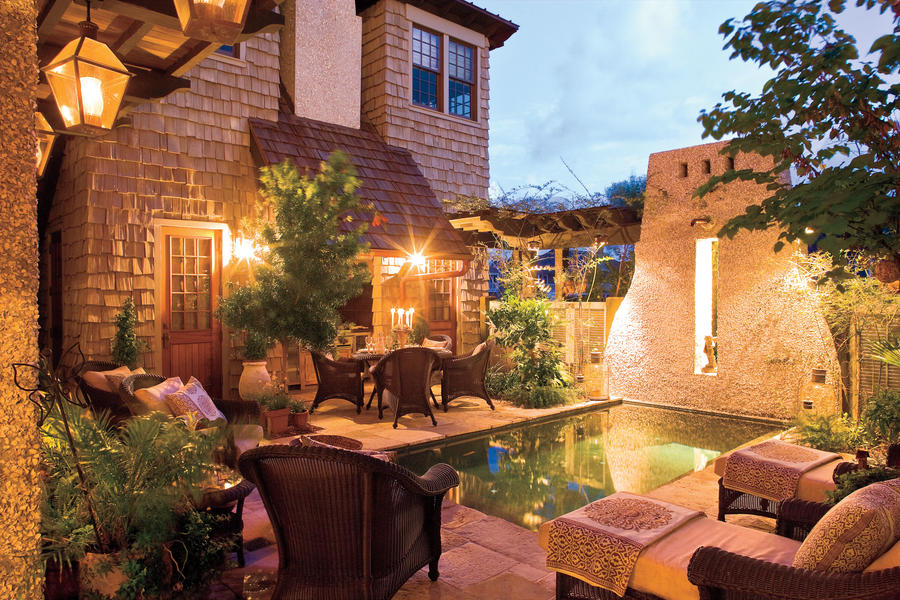 Courtyard Pool - Sparkling Pools - Southern Living on Southern Pools And Outdoor Living id=85332