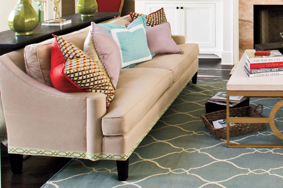 Add Interest With Decorative Trim 106 Living Room