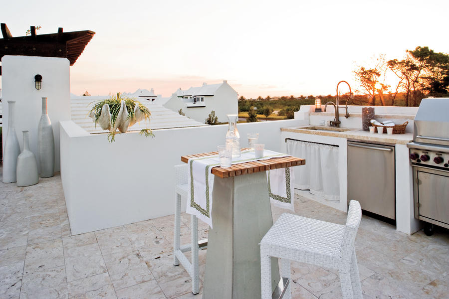 Alys Beach Outdoor Kitchen