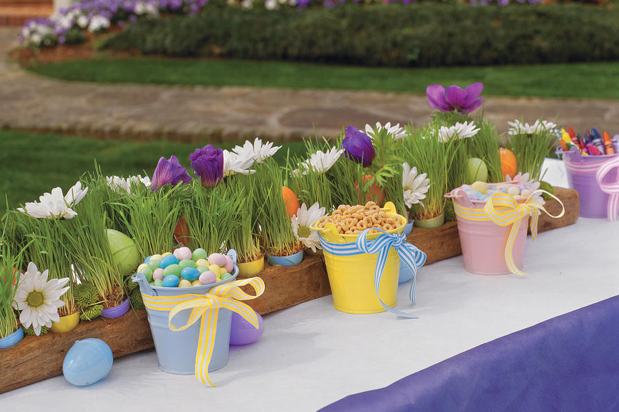 Kid-Friendly Easter Table