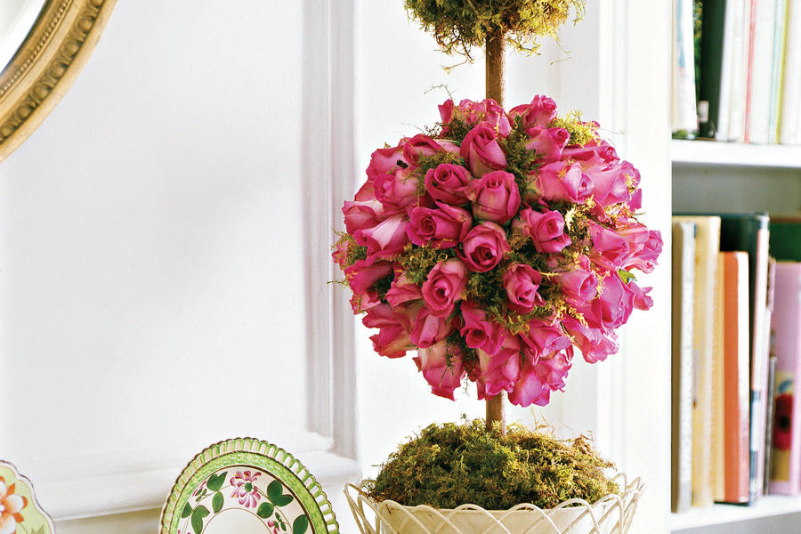 How to Make a Bouquet: Tip-top Topiaries