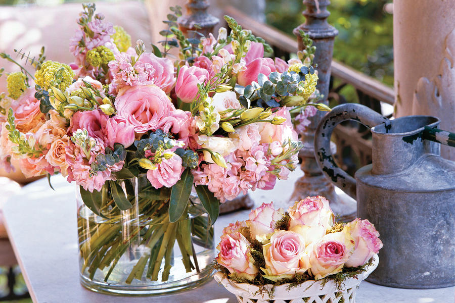How to Make a Bouquet: Gaye's Tips for Arrangements