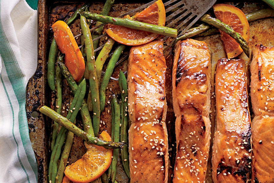 Honey Glazed Salmon Recipe Food Network