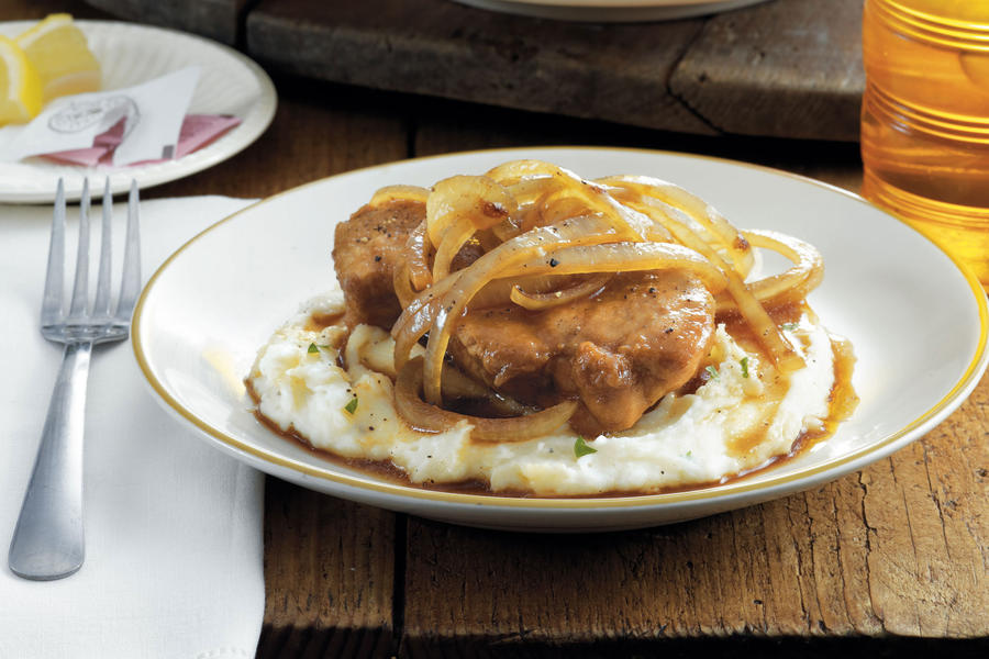 Country Smothered Pork Chops