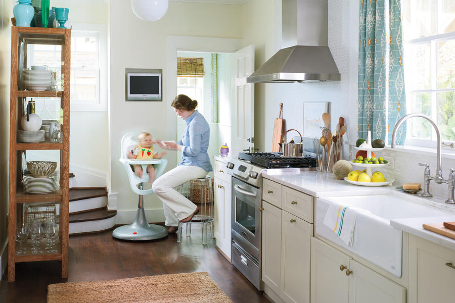 Galley Layout - Small Kitchen Design Ideas - Southern Living