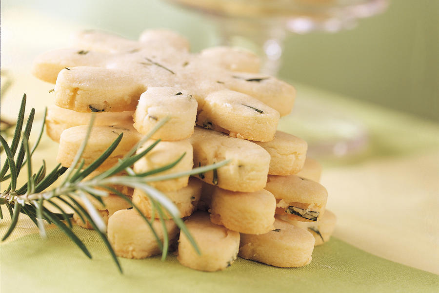 Best Cookies Recipes: Rosemary Shortbread Cookies Recipes