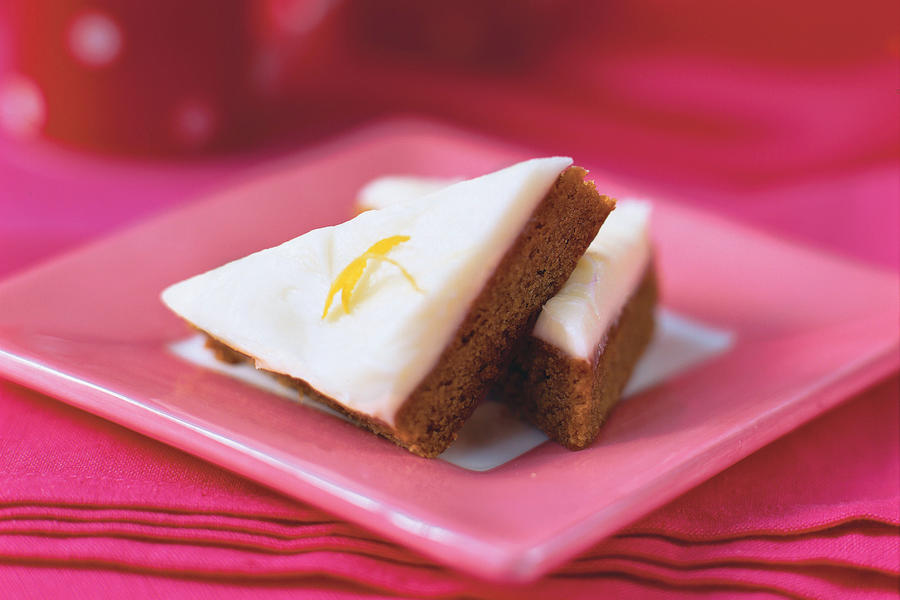 Best Cookies Recipes: Gingerbread Squares with Lemon-Cream Cheese Frosting Recipes